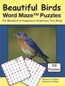 Beautiful Birds Word Maze Puzzles
